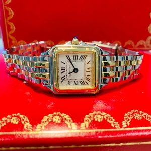 Cartier Panthere Watch, Case & Booklet